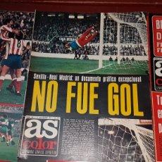 Coleccionismo deportivo: LOTE REVISTAS AS COLOR 1975. Lote 218321975