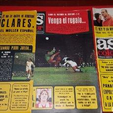 Coleccionismo deportivo: LOTE REVISTAS AS COLOR 1976. Lote 218322202