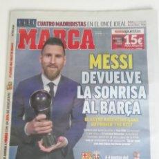 Coleccionismo deportivo: MARCA MESSI GANA THE BEST (AÑO 2019). Lote 218458631