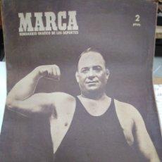 Collectionnisme sportif: MARCA-3/5/49-BOXEO JAVIO OCHOA A MUERTO, CICLISMO, FUTBOL,. Lote 218476226