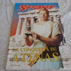 Coleccionismo deportivo: (LLL) SPORT EDICION ESPECIAL FINAL COPA EUROPA 1994 EN ATENAS (F.C.BARCELONA-AC MILAN)-BARÇA. Lote 218553626