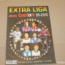Coleccionismo deportivo: EXTRA LIGA DON BALÓN 99-2000 Nº 47. Lote 218798705