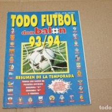 Coleccionismo deportivo: TODO FUTBOL DON BALÓN 93794 RESUMEN DE TODA LA TEMPORADA. Lote 218798930