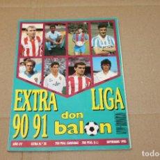 Coleccionismo deportivo: EXTRA LIGA DON BALÓN 90 91 EXTRA Nº 20. Lote 218799045