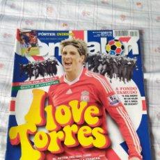 Coleccionismo deportivo: DON BALON NÚMERO 1722 FERNANDO TORRES, PÓSTER INIESTA, TAMUDO ESPANYOL APÉNDICE LIGA 08/09. Lote 120122980