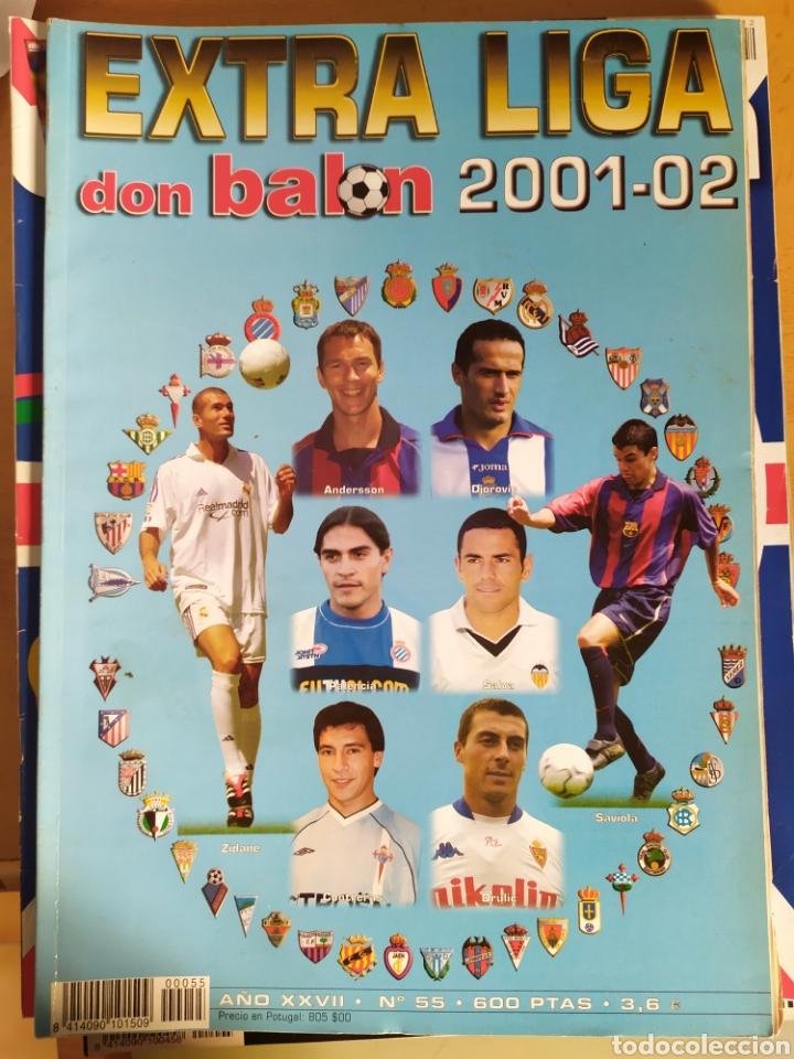 DON BALON NÚMERO 55 EXTRA LIGA 01/02 2001 2002 (Coleccionismo Deportivo - Revistas y Periódicos - Don Balón)