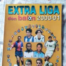 Coleccionismo deportivo: DON BALON NÚMERO 52 EXTRA LIGA 2000/2001. Lote 120123616