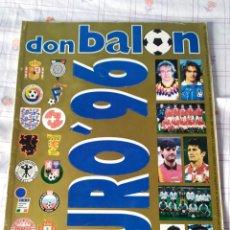 Coleccionismo deportivo: DON BALON ESPECIAL EURO 96 NUMERO 36 EUROS 1996 INGLATERRA. Lote 26365583