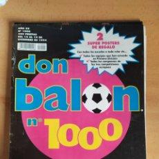 Coleccionismo deportivo: DON BALON EXTRA Nº1000 (BARCELONA,REAL MADRID,ZARAGOZA,VALENCIA,AT.MADRID,ATLHETIC DE BILBAO...). Lote 27194052