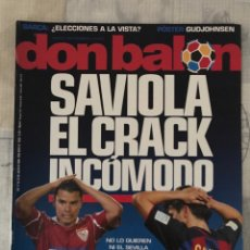 Coleccionismo deportivo: FÚTBOL DON BALÓN 1605 - POSTER GUDJOHNSEN - SAVIOLA - LUIS ARAGONÉS - SALAMANCA - SEVILLA - ESPANYOL. Lote 218820686