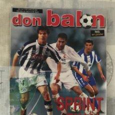 Coleccionismo deportivo: FÚTBOL DON BALÓN 1443 - POSTER RAÚL - BARÇA - VALENCIA - SAMITIER - CELTA - ESPAÑA - AS MARCA. Lote 218822575