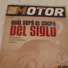 Coleccionismo deportivo: GUÍA MOTOR MARCA 1999. Lote 218838188
