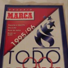 Coleccionismo deportivo: GUÍA ANUARIO MARCA 1995/1996. Lote 218839285