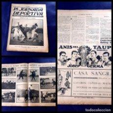 Coleccionismo deportivo: PERIODICO LA JORNADA DEPORTIVA -1922-Nº 59- FORTUNA DE VIGO -C.D EUROPA. Lote 218895483