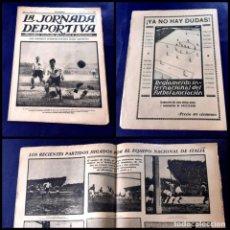 Coleccionismo deportivo: PERIODICO LA JORNADA DEPORTIVA -1923 -Nº 100 - ITALIA-ALEMANIA. Lote 218895837