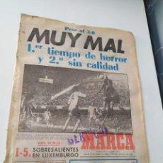 Coleccionismo deportivo: DIARIO MARCA 15 DE OCTUBRE DE 1981.. Lote 218916921