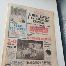 Coleccionismo deportivo: DIARIO MARCA 23 DE OCTUBRE DE 1981.. Lote 294487968