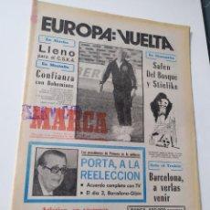 Coleccionismo deportivo: DIARIO MARCA 30 DE SEPTIEMBRE DE 1981. Lote 218918353