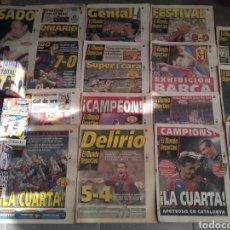 Coleccionismo deportivo: LOTE MUNDO DEPORTIVO CLUB BARCELONA AÑOS 1990. Lote 219093610