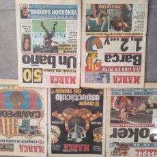 Coleccionismo deportivo: REVISTAS MARCA CLUB BARCELONA AÑOS 1990. Lote 219095100