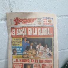 Coleccionismo deportivo: DIARI SPORT 9 DE JUNIO DE 1992.. Lote 219106946