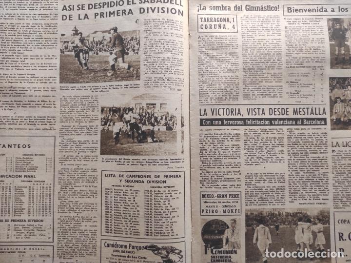 Coleccionismo deportivo: VIDA DEPORTIVA FC BARCELONA CAMPEON LIGA 1948 1949 - BARÇA TEMPORADA 48 49 - Foto 2 - 219264476