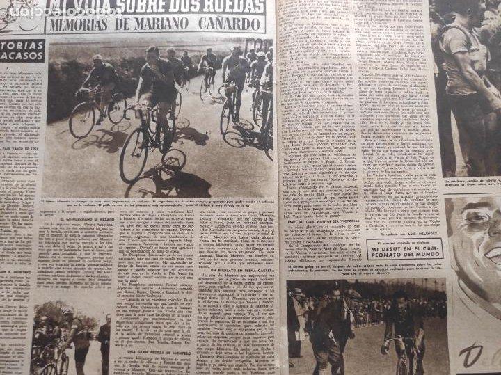 Coleccionismo deportivo: VIDA DEPORTIVA FC BARCELONA CAMPEON LIGA 1948 1949 - BARÇA TEMPORADA 48 49 - Foto 5 - 219264476