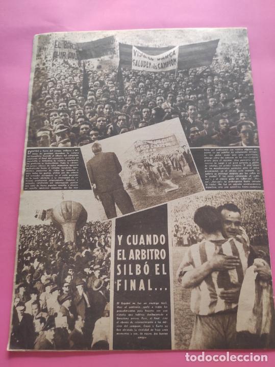 Coleccionismo deportivo: VIDA DEPORTIVA FC BARCELONA CAMPEON LIGA 1948 1949 - BARÇA TEMPORADA 48 49 - Foto 6 - 219264476