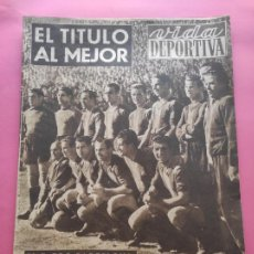 Coleccionismo deportivo: VIDA DEPORTIVA FC BARCELONA CAMPEON LIGA 1948 1949 - BARÇA TEMPORADA 48 49. Lote 219264476