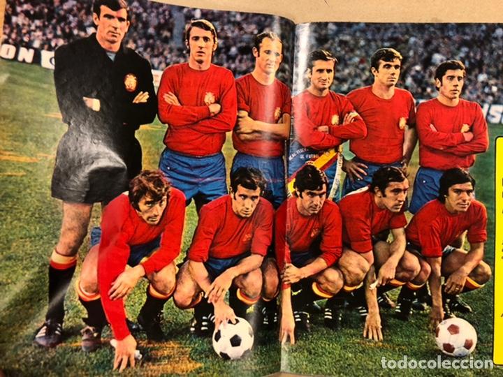 Coleccionismo deportivo: AS COLOR N° 54 (1972). INCLUYE POSTER SELECCIÓN ESPAÑOLA, CRUYFF, URTAIN, ÁNGEL NIETO - Foto 3 - 219294943