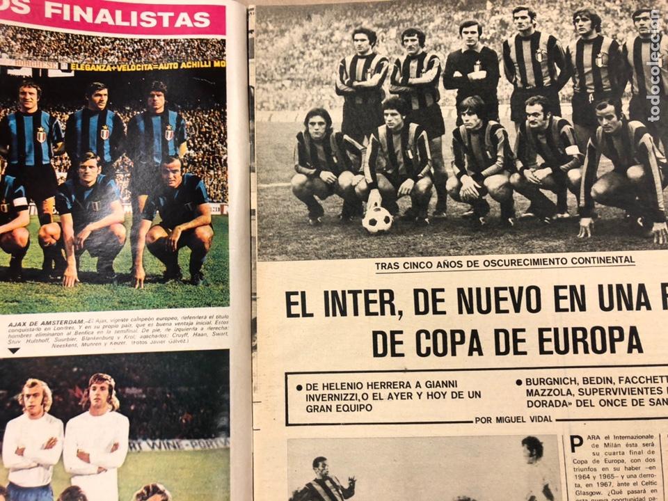 Coleccionismo deportivo: AS COLOR N° 54 (1972). INCLUYE POSTER SELECCIÓN ESPAÑOLA, CRUYFF, URTAIN, ÁNGEL NIETO - Foto 4 - 219294943