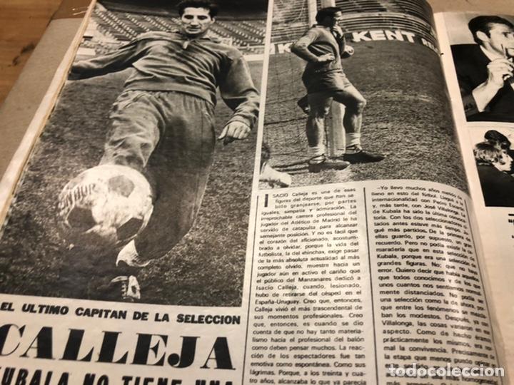 Coleccionismo deportivo: AS COLOR N° 54 (1972). INCLUYE POSTER SELECCIÓN ESPAÑOLA, CRUYFF, URTAIN, ÁNGEL NIETO - Foto 8 - 219294943