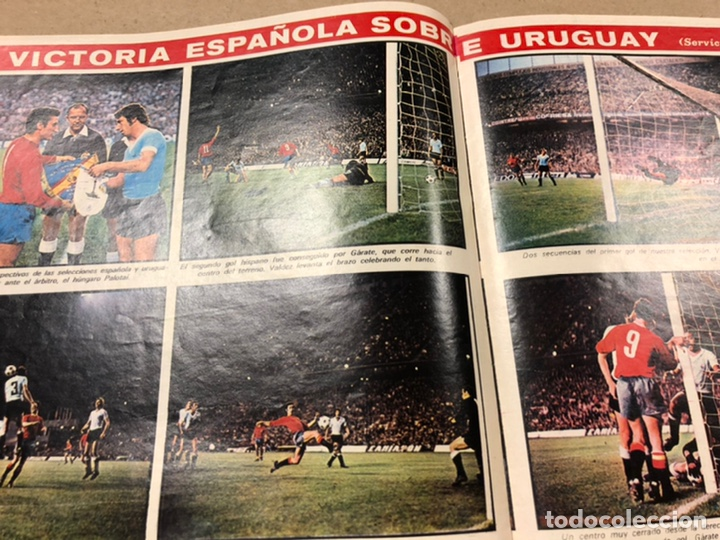 Coleccionismo deportivo: AS COLOR N° 54 (1972). INCLUYE POSTER SELECCIÓN ESPAÑOLA, CRUYFF, URTAIN, ÁNGEL NIETO - Foto 9 - 219294943