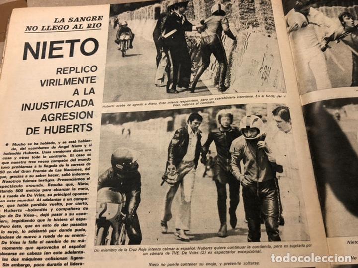 Coleccionismo deportivo: AS COLOR N° 54 (1972). INCLUYE POSTER SELECCIÓN ESPAÑOLA, CRUYFF, URTAIN, ÁNGEL NIETO - Foto 11 - 219294943