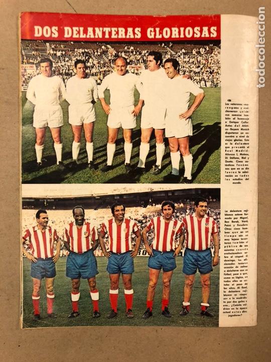 Coleccionismo deportivo: AS COLOR N° 54 (1972). INCLUYE POSTER SELECCIÓN ESPAÑOLA, CRUYFF, URTAIN, ÁNGEL NIETO - Foto 13 - 219294943