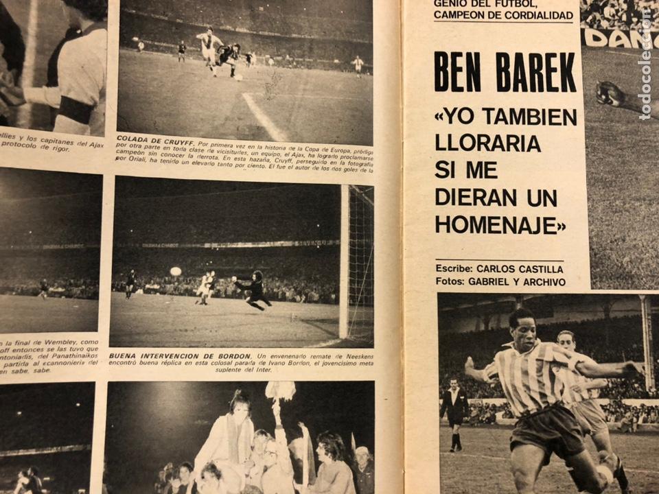 Coleccionismo deportivo: AS COLOR N° 55 (1972). INCLUYE POSTER CÁDIZ C.F., GARATE, DI STEFANO, BEN BAREK, URTAIN, FOLLEDO - Foto 4 - 219295746