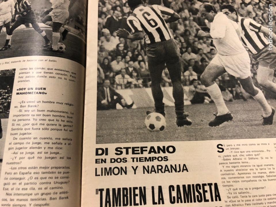 Coleccionismo deportivo: AS COLOR N° 55 (1972). INCLUYE POSTER CÁDIZ C.F., GARATE, DI STEFANO, BEN BAREK, URTAIN, FOLLEDO - Foto 5 - 219295746