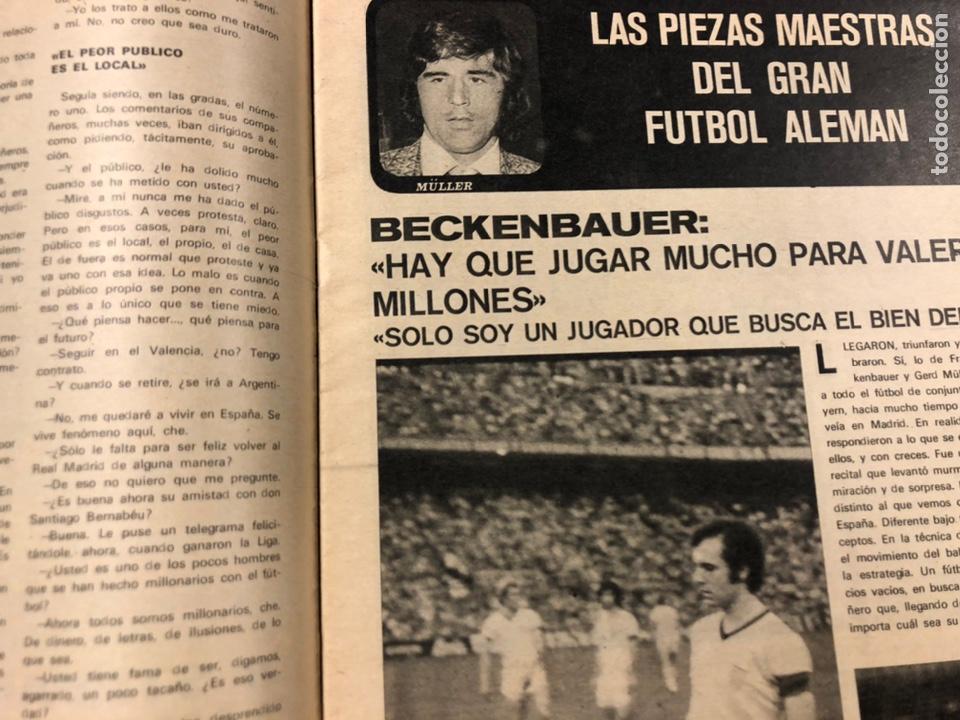 Coleccionismo deportivo: AS COLOR N° 55 (1972). INCLUYE POSTER CÁDIZ C.F., GARATE, DI STEFANO, BEN BAREK, URTAIN, FOLLEDO - Foto 6 - 219295746