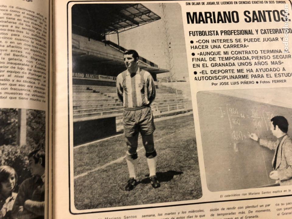Coleccionismo deportivo: AS COLOR N° 55 (1972). INCLUYE POSTER CÁDIZ C.F., GARATE, DI STEFANO, BEN BAREK, URTAIN, FOLLEDO - Foto 7 - 219295746