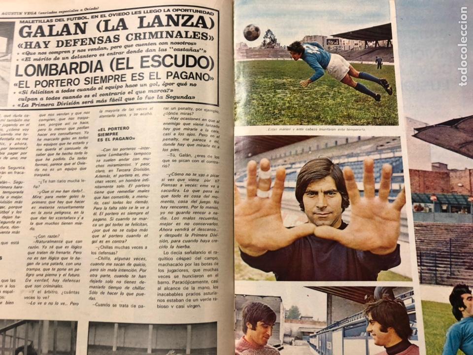 Coleccionismo deportivo: AS COLOR N° 55 (1972). INCLUYE POSTER CÁDIZ C.F., GARATE, DI STEFANO, BEN BAREK, URTAIN, FOLLEDO - Foto 8 - 219295746