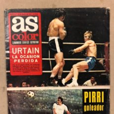 Collectionnisme sportif: AS COLOR N° 56 (1972). INCLUYE POSTER URTAIN Y BLIN, REAL MADRID COPA DEL REY, MOLOWNY, EIZAGUIRRE,.. Lote 219296418
