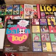Coleccionismo deportivo: EXTRAS DE LA LIGA SUPLEMENTO APÉNDICE AÑOS 90 DON BALÓN. Lote 219689210