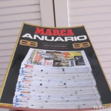 Coleccionismo deportivo: ANUARIO MARCA AÑOS 98/99. ENERO DE 1999. Lote 219859531