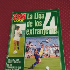 Collectionnisme sportif: AS COLOR EXTRA Nº 291 LIGA 1991-1992 POSTER CENTRAL BARCELONA CAMPEON LIGA. Lote 220281527