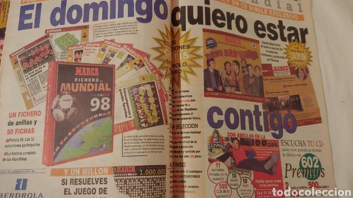 Coleccionismo deportivo: Marca 1998 Lorenzo Sanz le dio las gracias y adiós - Foto 2 - 220297296
