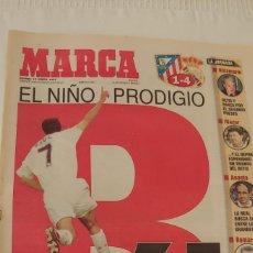 Coleccionismo deportivo: MARCA ENERO 1997 RAÚL EL NIÑO PRODIGIO. Lote 220297443