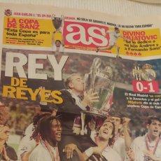 Coleccionismo deportivo: AS MAYO 1998 REY DE REYES. Lote 220298318