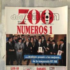 Coleccionismo deportivo: FÚTBOL DON BALÓN 700 - EXTRA 40 PRINCIPALES - DASAEV SEVILLA - TOSHACK - CLEMENTE - AS MARCA. Lote 220460661