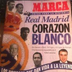 Collectionnisme sportif: REAL MADRID REVISTA MARCA -DE 100 PAGS.LA LEYENDA BLANCA DESDE 1.897. Lote 220471892