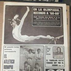 Collectionnisme sportif: AS (21-7-1976) ATLETICO MADRID OLIMPIADAS MONTREAL NADIA COMANECI REAL GIJON CASTELLINI ILIJA KATIC. Lote 220516826